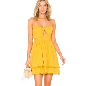 Endless Rose Dress- Canary Yellow
